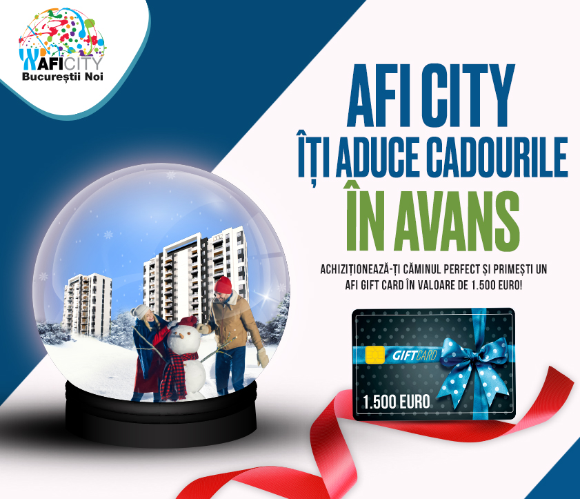 De Sarbatori, AFI City iti aduce cadourile in avans!